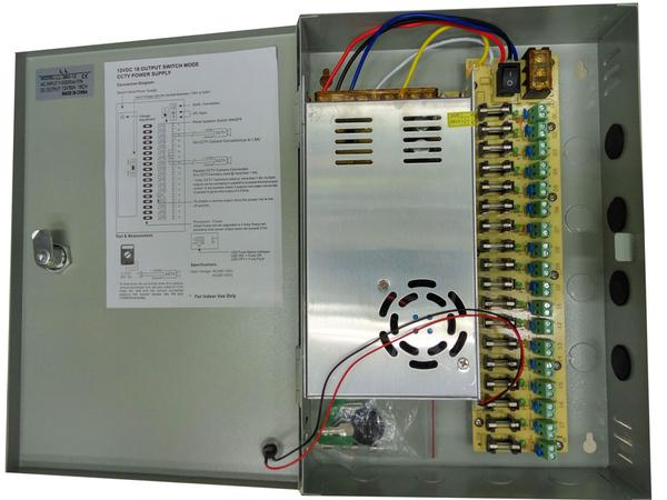 CENTRAL POWER SUPPLY 30A+BOX