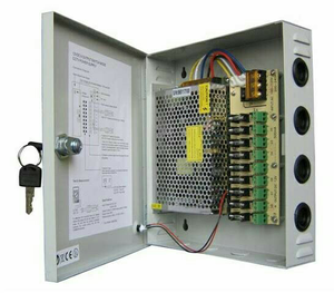 CENTRAL POWER SUPPLY 10A+BOX