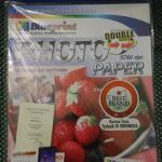 KERTAS BLUEPRINT STRAWBERRY DOUBLE SIDE